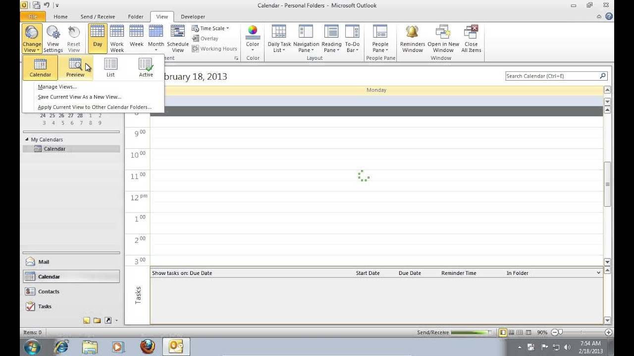 How to Delete Duplicate Outlook 2010 Calendar Entries - YouTube