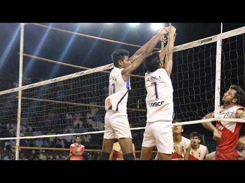 Indian volleyball - 43 rd National junior championship -kerala vs j&kashmir