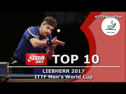 DHS ITTF Top 10  2017 Men's World Cup