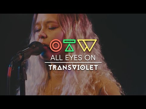 """All Eyes On Transviolet [""""Kaleidoscopes"""" Live + Interview]   Ones To Watch"""
