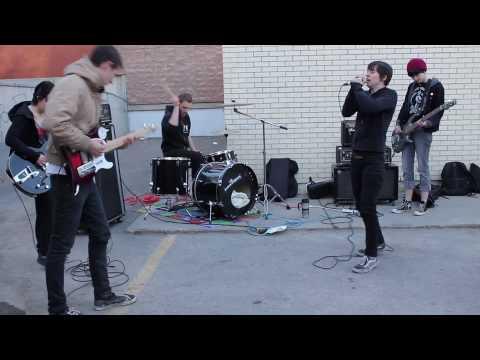 Rape Revenge - Dillinger Escape Plan parking lot show
