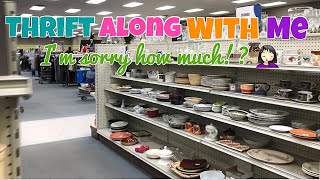 Goodwill Thrift Along With Me | You Won't Believe The Price They Had On This!