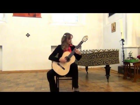 Ekaterina Pushkarenko Plays D.Scarlatti Sonata K.11 E-moll
