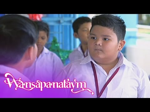 Wansapanataym: Percy blames other students