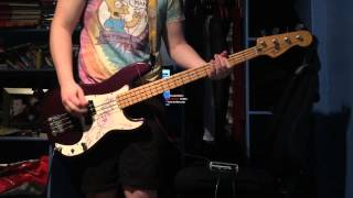 NOFX - New Happy Birthday Song? Bass Cover