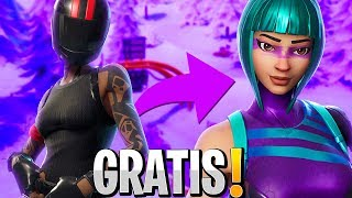HOW to GET WONDER SKIN FREE AT FORTNITE!!!