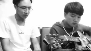 XIN LỖI EM (Noo Phước Thịnh) GUITAR COVER BY B.O, LR (ẢO BAND)