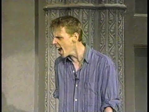 Ewen Bremner Rants on Late Show, September 3, 1996