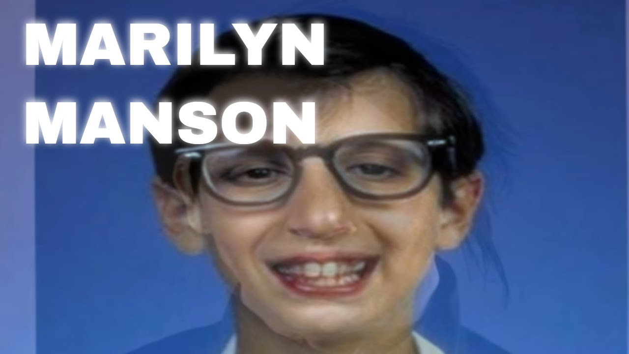 Was Marilyn Manson The Kid From Wonder Years Show Youtube
