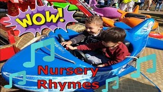 Wheels On The Bus | Itsy Bitsy Spider | +More Nursery Rhymes & Kids Songs | FunFair Rides |