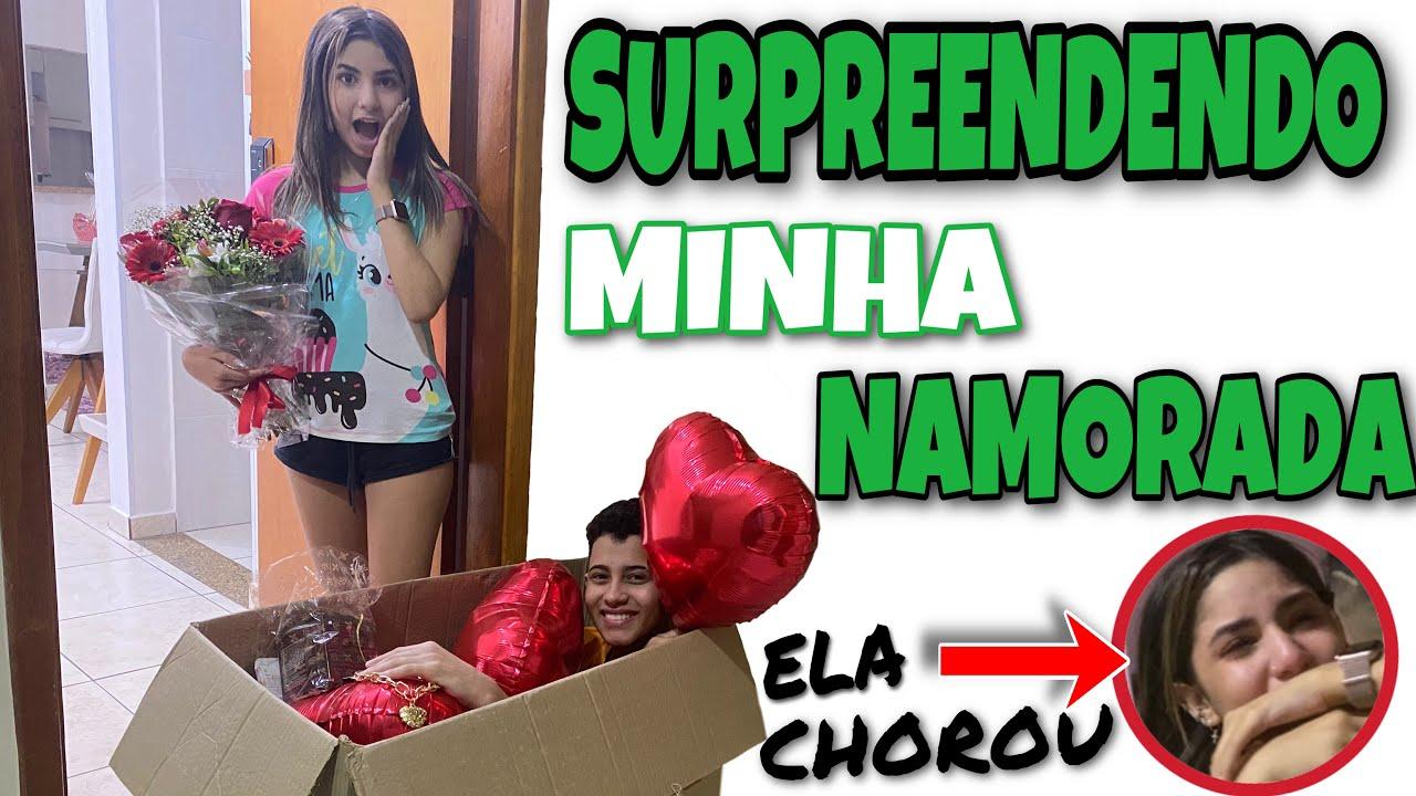 Download SURPREENDENDO MINHA NAMORADA   ELA CHOROU