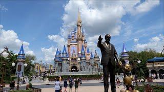 A Beautiful Day at Magic Kingdom - Filmed in 5K | Walt Disney World Orlando Florida 2021