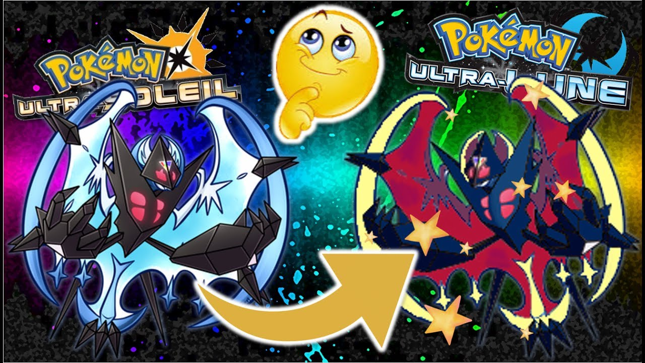 Ultra Solgaleo Et Ultra Lunala Shiny Théorie Pokémon Ultra Soleil Et Ultra Lune