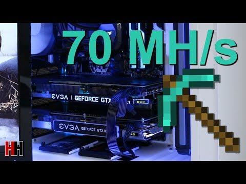 The 70 Megahash Ethereum Mining PC - YouTube