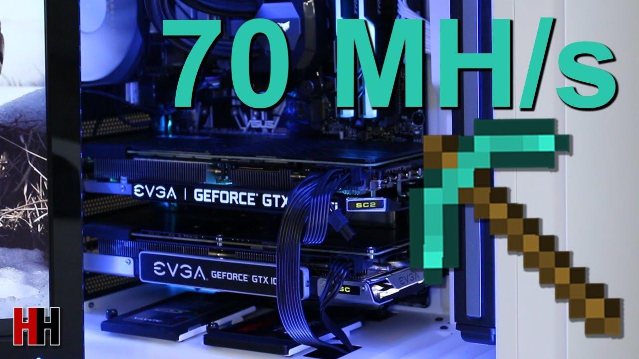 The 70 Megahash Ethereum Mining PC