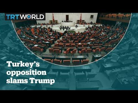 Turkey's main opposition leaders respond to Trump's threat to 'devastate Turkey economically'