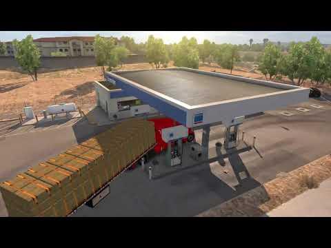 American Truck Simulator - California Doubles