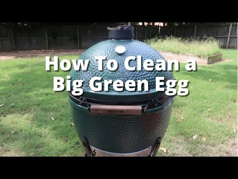 How To Clean a Big Green Egg | Big Green Egg Cleaning Malcom Reed HowToBBQRight