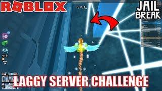 LAGGY SERVER Challenge | User vs Kevyn | Roblox Jailbreak