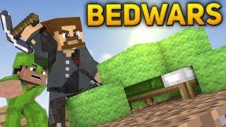 НЕВИДИМЫЙ ЕВГЕХА ПРОБРАЛСЯ НА БАЗУ ВРАГА - Minecraft Bed Wars Rush