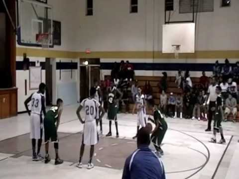 Spring Lake Middle vs Pine Forest Middle school basketball highlights - YouTube