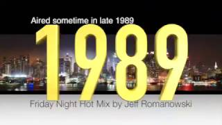 WQHT HOT 97 Friday Night Hotmix by Jeff Romanowski (1989)