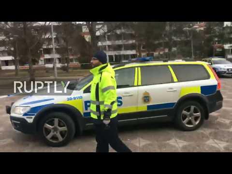 LIVE: Explosion reported in Huddinge near Stockholm