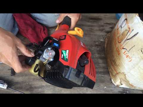 How To Replace A Weed Trimmer/Weed Eater Carburetor