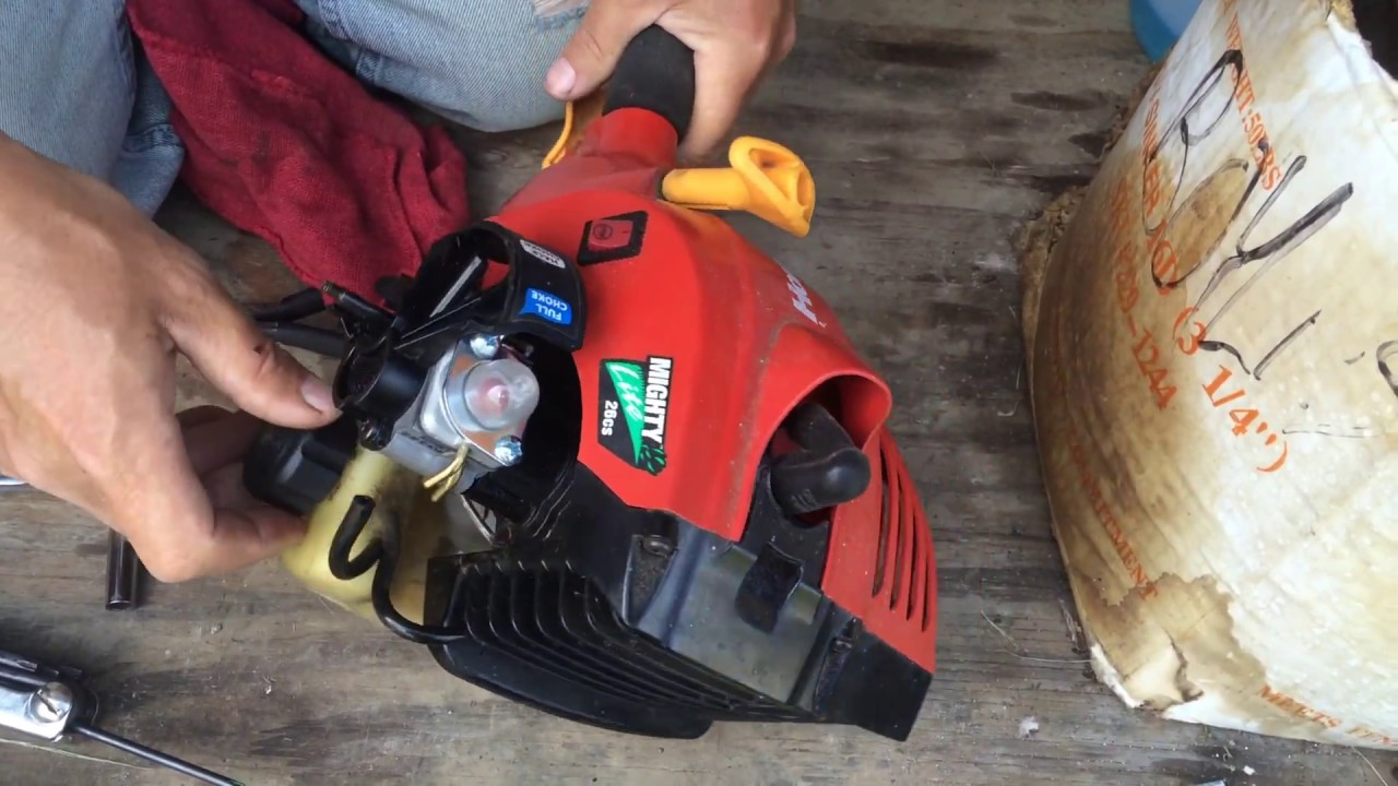How To Replace A Weed Trimmer Weed Eater Carburetor