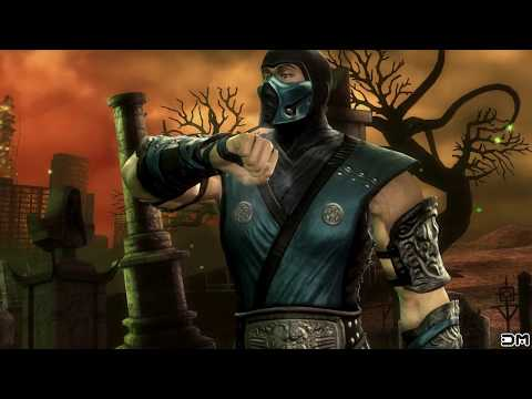 Mortal Kombat IX Sub-Zero (Costume 1) Performs All Character Intros PC 60FPS 1080p