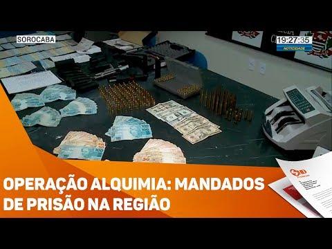Operação Alquimia: Mandados de prisão na região - TV SOROCABA/SBT