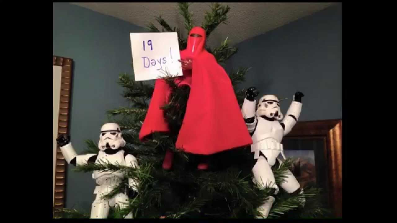 StormTroopers Putting Up A Christmas Tree - A Star Wars Christmas ...