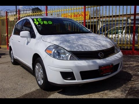 2010 Nissan Versa 1 8sl Hatchback Youtube