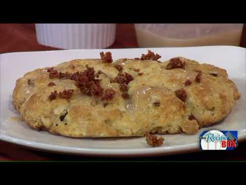 Apple Bacon Scones