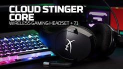 Cloud Stinger Core Wireless + 7.1 Surround Sound – Wireless PC Gaming Headset.