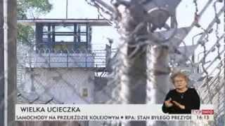 Brawurowa ucieczka z więzienia w Dublinach (TVP Info, 18.11.2013)