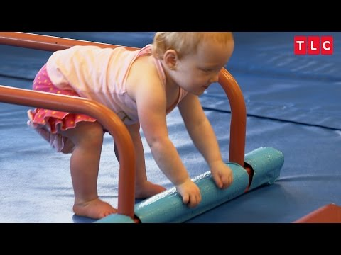 Watch Baby Hazel Work Towards Her First Steps  OutDaughtered
