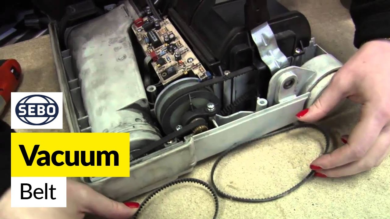 How To Replace The Sebo Belts On A Sebo X1 Vacuum Cleaner