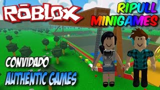 Roblox - Ripull Minigames (ft. Authentic Games)