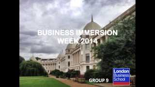 [HD] Business Immersion Week 2014 G9