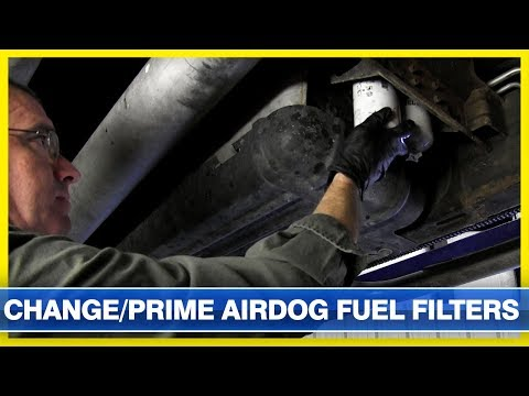 How To Change and Prime an Airdog Fuel System Fuel Filter ... Airdog Fuel Filters on