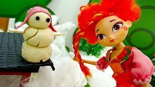 Сказочный Патруль возвращает снег! Видео с куклами для девочек.