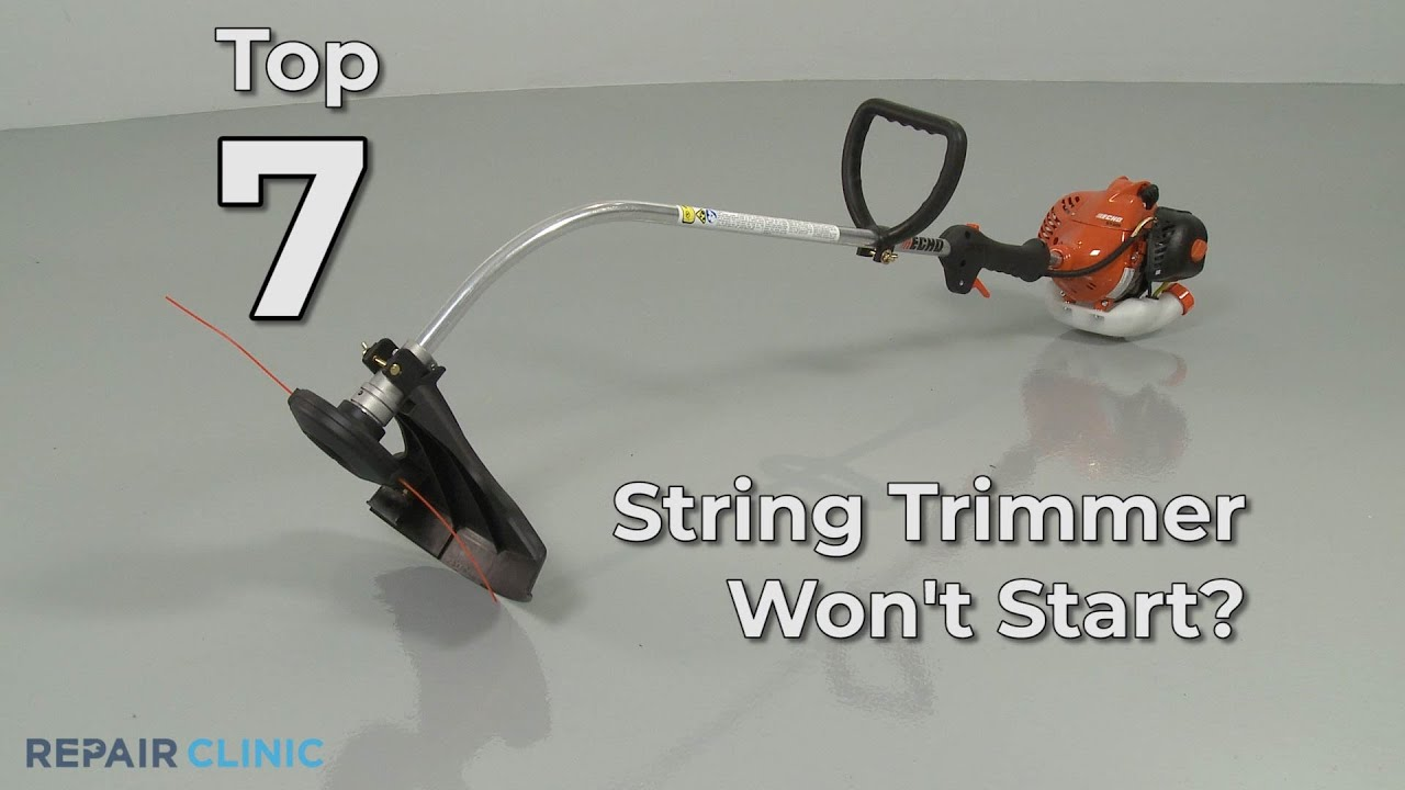 Top Reasons String Trimmer Not Starting — String Trimmer