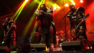 Lordi live at Sabaton Open Air, Falun, Sweden, 2016 08 20, This Is Heavy Metal
