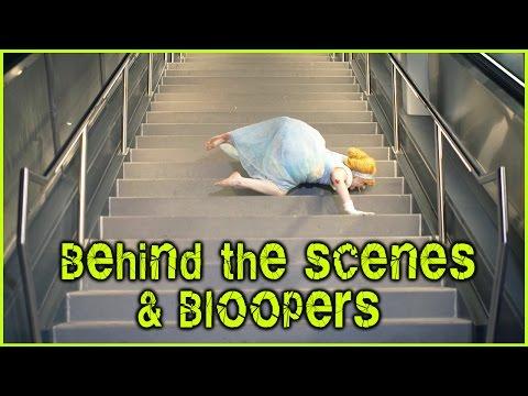 SHATTERED CINDERELLA - Behind the Scenes & Bloopers - Glam&Gore Disney Princess