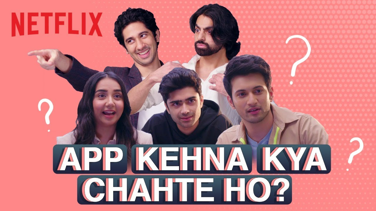Prajakta Koli & Rohit Saraf Play App Charades ft. The Cast of Mismatched | Netflix India