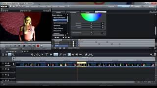 №2 Урок  Эффекты, ключи и титры  монтаж в MAGIX Видео Делюкс