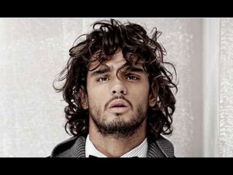 Long Hairstyles For Men With Thick Curly Hair Youtube