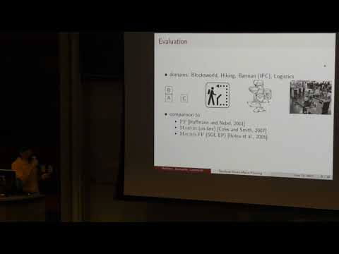 ICAPS 2017: Generating Macro Actions from a Plan Database for Planning on Autonomous Mobile Robots