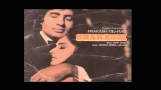 Manzilen Apni Jagah Hain (Sharaabi 1984) kishtracks2 hindi karaoke